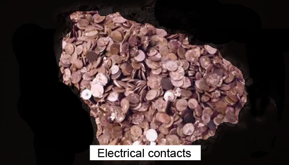 Recycling Electrical Contacts Scrap